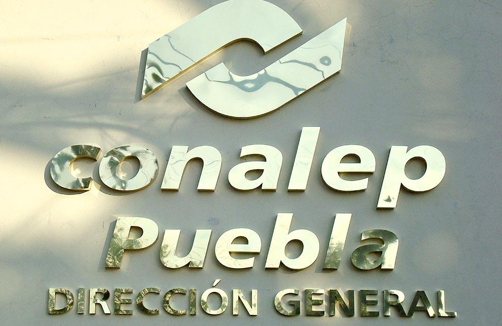Conalep Puebla Dirección General - Placas Nuevo Siglo