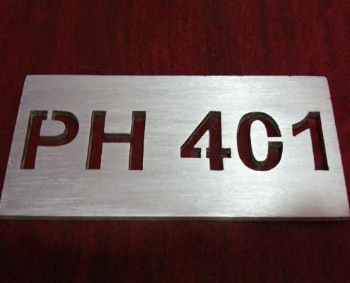 PH 401 - Logotipo calado 1