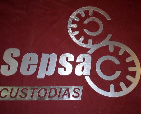 SEPSA - Letrero calado