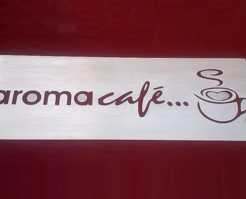 AROMA CAFÉ - Logotipo calado 1
