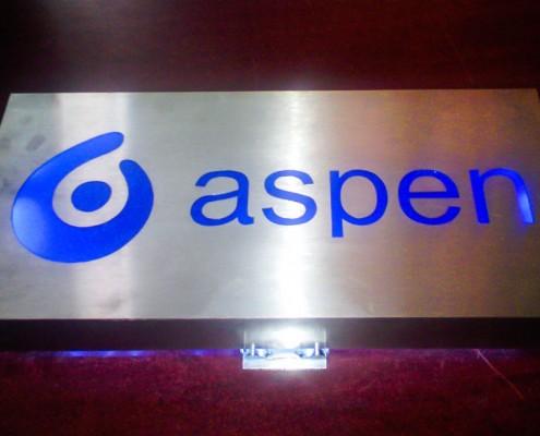 ASPEN - Logotipo calado 1