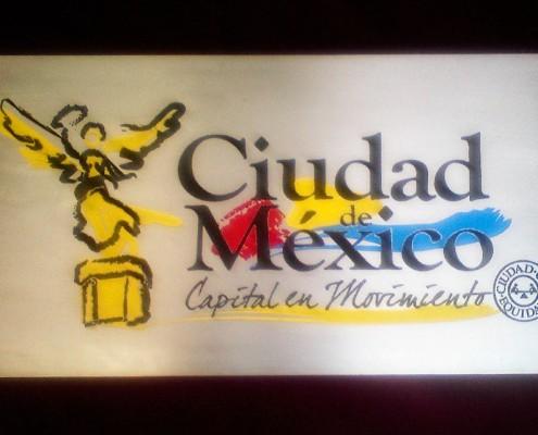 GOBIERNO DE LA CIUDAD DE MEXICO - Placa fotograbada