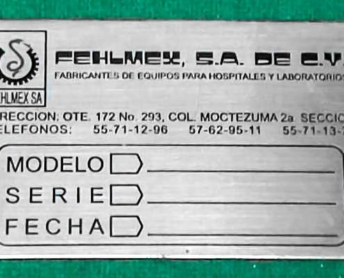 FELHMEX - Placas fotograbadas