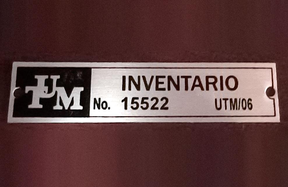PLACAS DE INVENTARIO - Placas de inventario 1