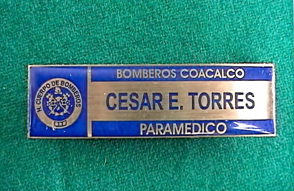 Bomberos Coacalco - Medallas Pins