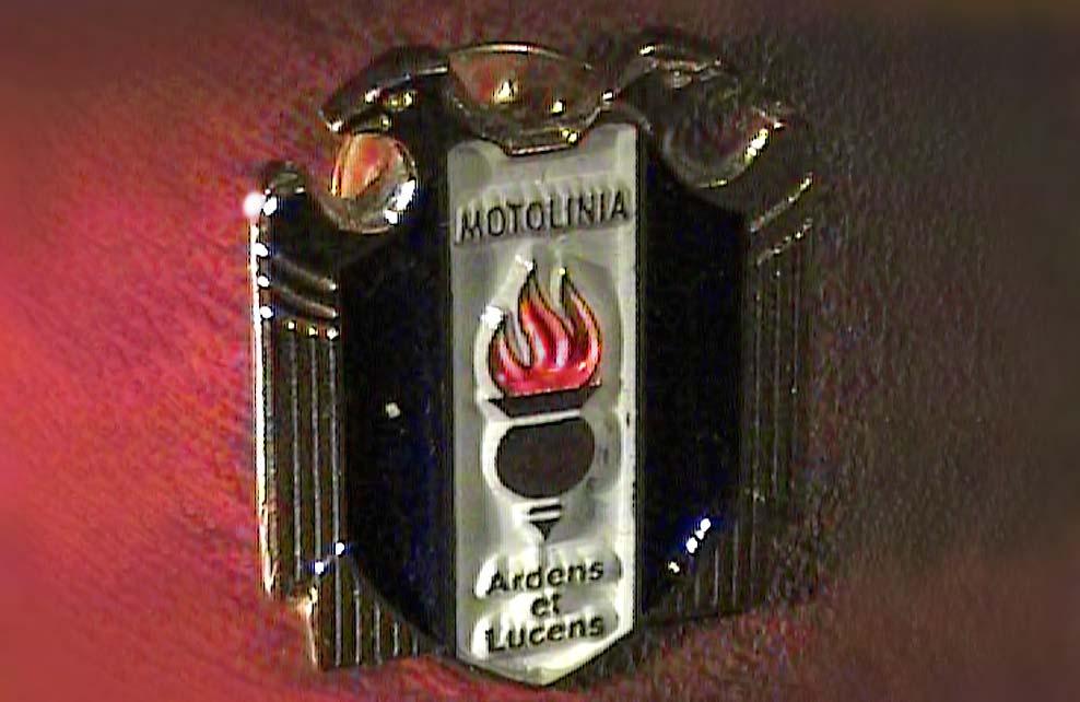 MOTOLINIA - Medallas Pins