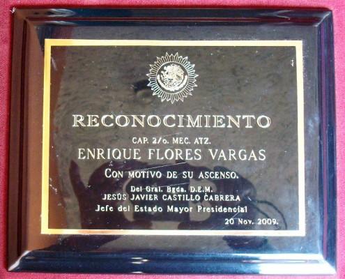 Estado Mayor Presidencial - Reconocimiento