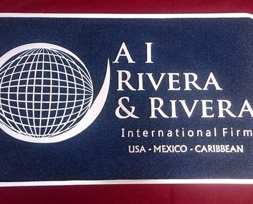 AI RIVERA & RIVERA - Logotipo fundido